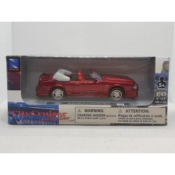 FORD MUSTANG GT CONVERTIBLE NEW RAY CITY CRUISER 1/43 BOITE NEUF