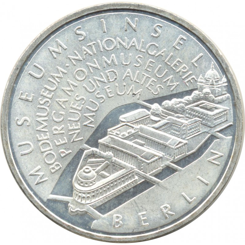 ALLEMAGNE 10 EURO 2002 A ILE AU MUSEE BERLIN SUP ARGENT