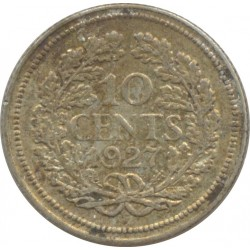 HOLLANDE 10 CENTS 1927 TTB