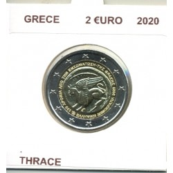 GRECE 2020 2 EURO COMMEMORATIVE THRACE SUP