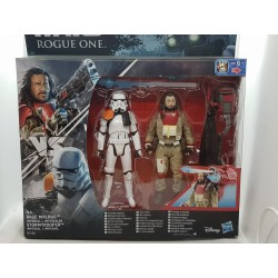 FIGURINE STAR WARS ROGUE ONE BLAZE MALBUS ET IMPERIAL STORMTROOPER de chez HASBRO NEUF