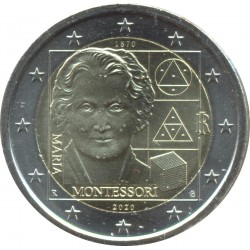 ITALIE 2020 2 EURO COMMEMORATIVE MARIA MONTESSORI SUP