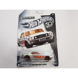 FORD MUSTANG COUPE 1967 HOTWHEELS BOITE NEUVE