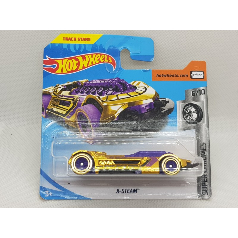 HOTWHEELS SUPER CHROMES 2018 6/10 X-STEAM