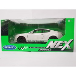 BENTLEY CONTINENTAL SUPERSPORTS BLANCHE WELLY 1/24 BOITE NEUF