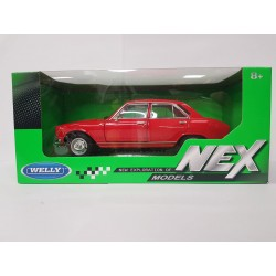 PEUGEOT 504 1975 ROUGE WELLY 1/24 BOITE NEUF