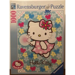PUZZLE 1000 PIECES MERVEILLEUSE HELLO KITTY de chez RAVENSBURGER
